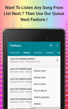 Yo Music Player apk screenshot
