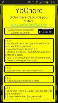 YoChord (Guitar chords) screenshot 5
