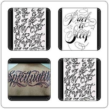 Tattoo Font and Lettering apk screenshot