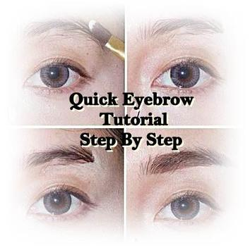 Simple Eyebrows Tutorial poster