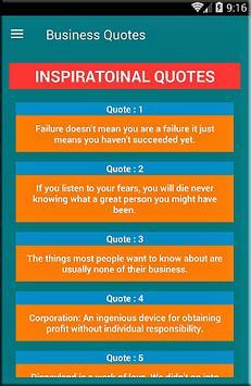 Business Quotes apk screenshot