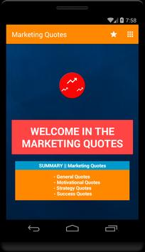 Marketing Quotes poster