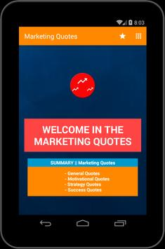 Marketing Quotes apk screenshot