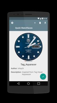 Quick Watchfaces (LG G4) 海報