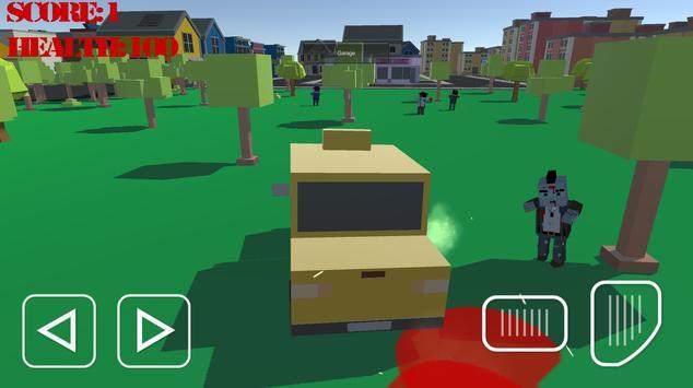 Zombie Car Survival apk screenshot
