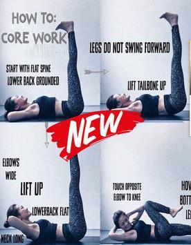 New Yoga Instruction poster