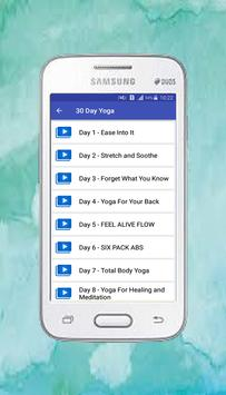 Free App Yoga daily fitness - Yoga workout plan screenshot 11