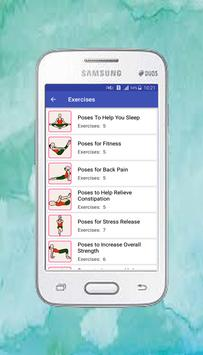 Free App Yoga daily fitness - Yoga workout plan screenshot 5