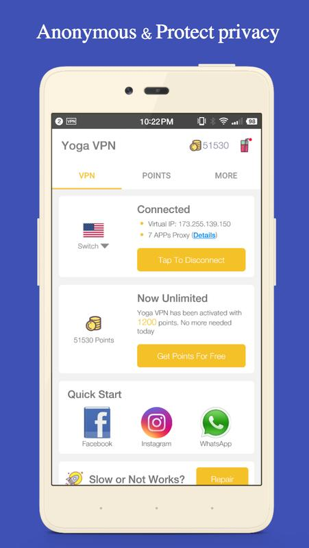 how to use free internet using vpn