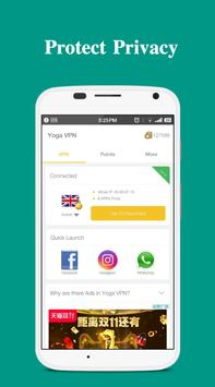 Yoga VPN - Free Unlimited & Secure Proxy & Unblock apk 截圖
