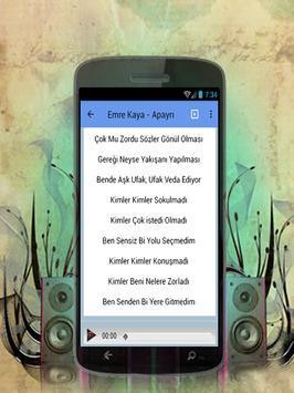 Emre Kaya - Apayrı Türkçe müzik Top Karaoke 2017 poster