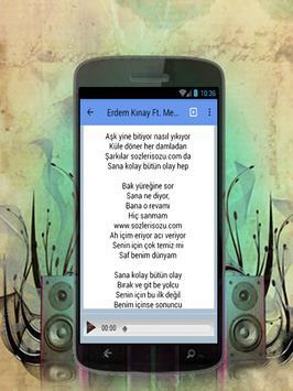 Erdem Kinay - Her Gece Kal Türkçe müzik poster