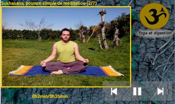 Yoga anti-stress et digestion apk screenshot