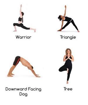 yoga positions apk screenshot