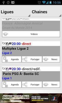 Programme Tv Foot screenshot 2