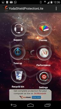 Yoda Shield Protection Lite apk screenshot
