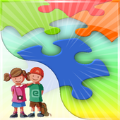 Kids Fill Puzzles icon