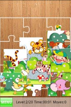 Kids Fill Puzzles poster