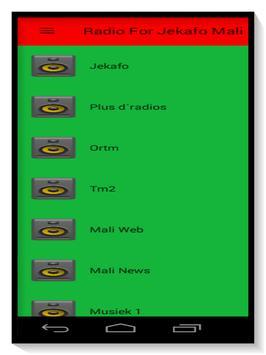 Radio for Jekafo Mali Direct screenshot 2