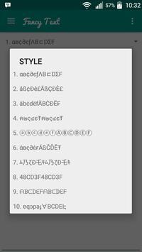 Word Reverse (and Fancy Text) apk screenshot