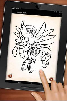 My Superheroes Pony Drawings screenshot 5