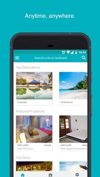 Yoho Bed - Hotel Booking App poster