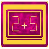 Matches Puzzle Math Brain Quiz icon