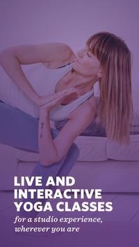 Yoga Classes: Live & On-Demand poster
