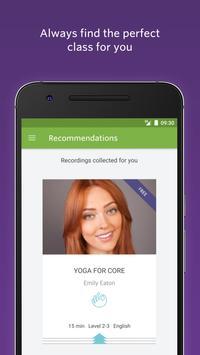 Yoga Classes: Live & On-Demand apk screenshot