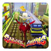 Temple Subway Dragon Surfers icon