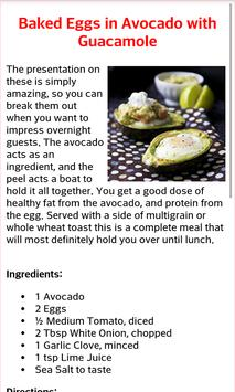 Healthy Breakfast Recipes screenshot 3