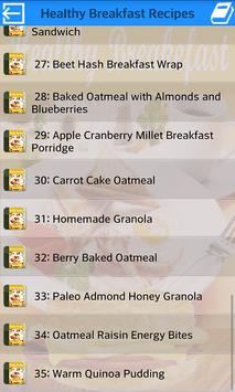 Healthy Breakfast Recipes screenshot 1