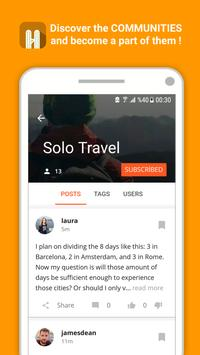 Yoloo 🏕️ Travel buddy, travel planner & guide apk screenshot