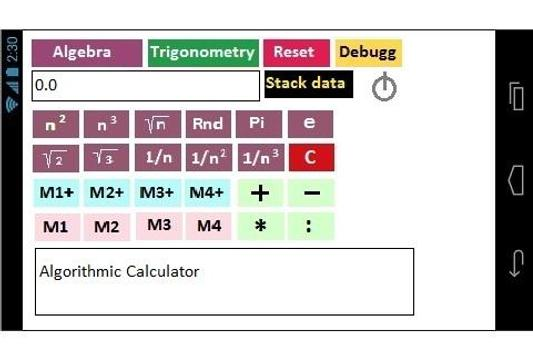 Algorithmic Calculator screenshot 3