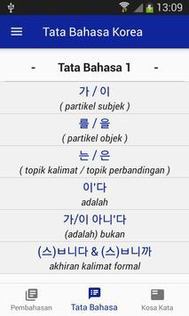 Bahasa Korea Belajar Bersama screenshot 2