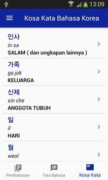Bahasa Korea Belajar Bersama screenshot 3