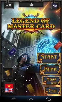 Legend Of Master Card poster