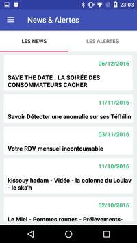 Infos Cacher apk screenshot