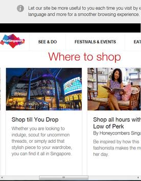 Singapore Travel Guide screenshot 4
