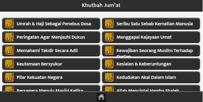Khutbah Jum'at apk screenshot