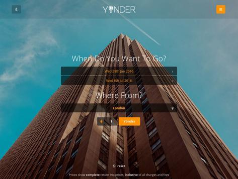 Yonder Travel apk screenshot