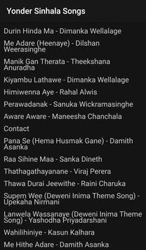 Sinhala Songs screenshot 1