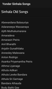 Sinhala Songs screenshot 2