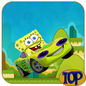 Racing Car SpongyBob icon
