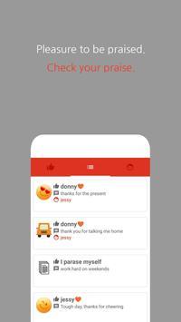 Praise Sticker - Pleasant habit apk screenshot
