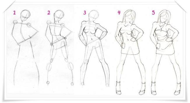 Diy manga drawing tutorial apk screenshot