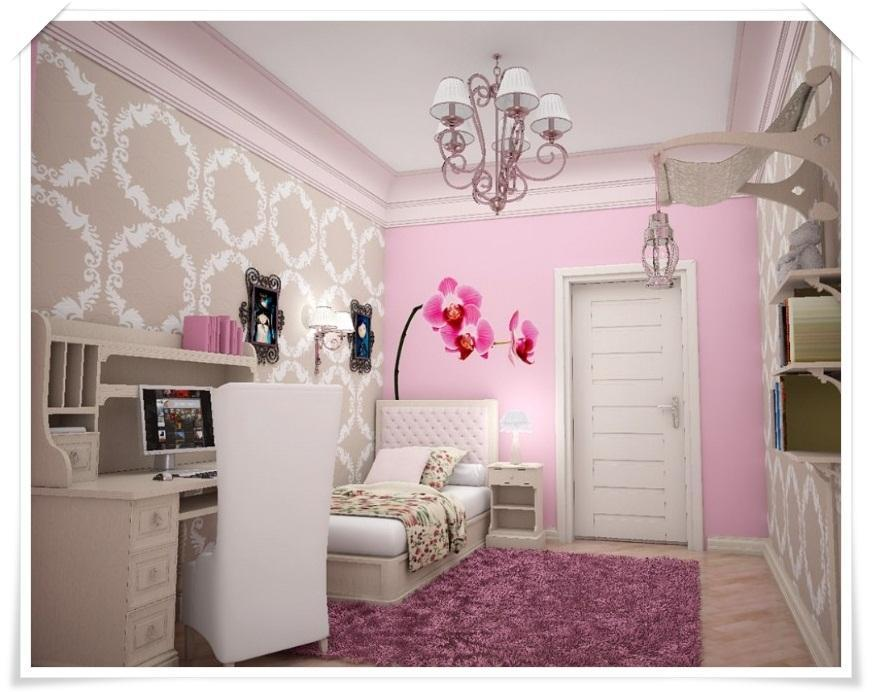 Beautiful Girls Bedroom Decoration Idea for Android - APK ...