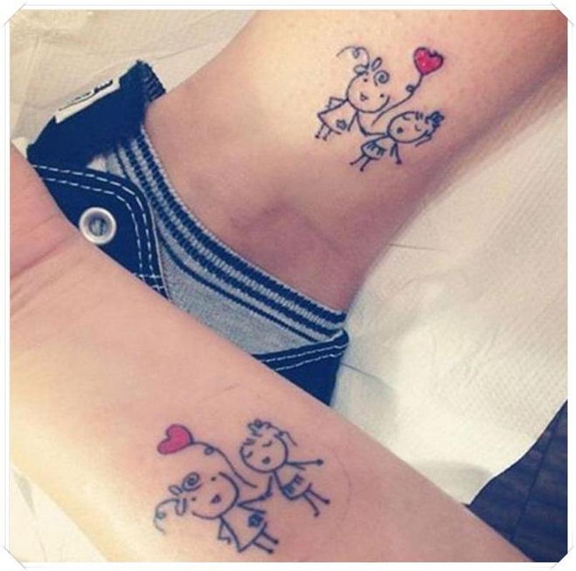 schwester symbol tattoo idee mit bedeutung fuer android