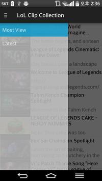 Collection LOL Clips apk screenshot