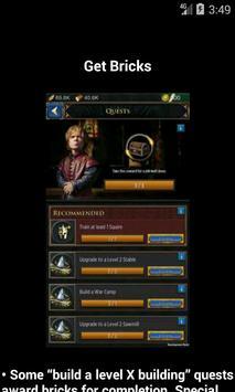 Guide for GOT conquest screenshot 2